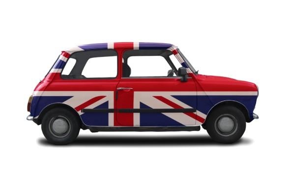 1960Mini-BritishFlagPaintJob